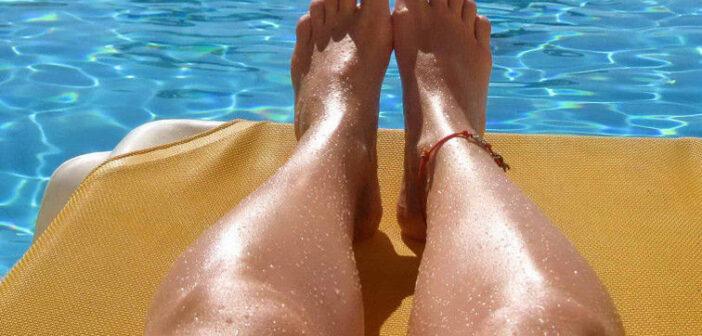 Knie Reha und Schwimmen nach Kreuzbandriss