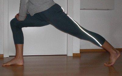 Arthrose im Knie - Hüfte dehnen