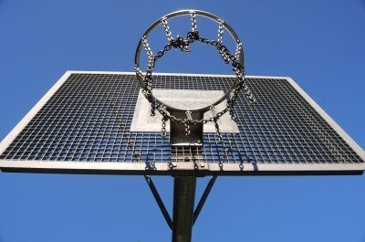 Patellarsehne und Basketball