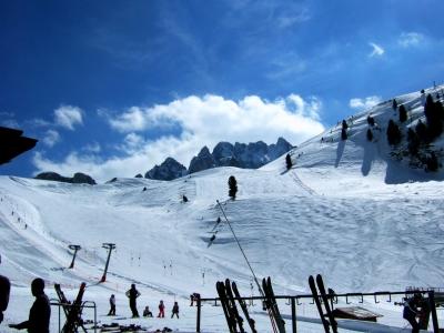 Kreuzband Operation sofort nach dem Skiunfall