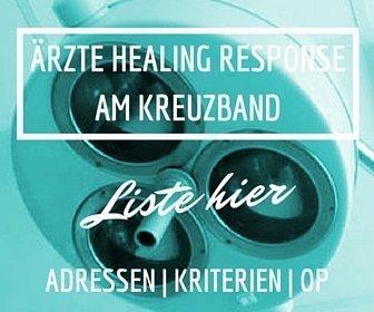 Banner Healing Response Adressen