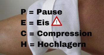 Richtiges Kühlen nach einer Knie-OP