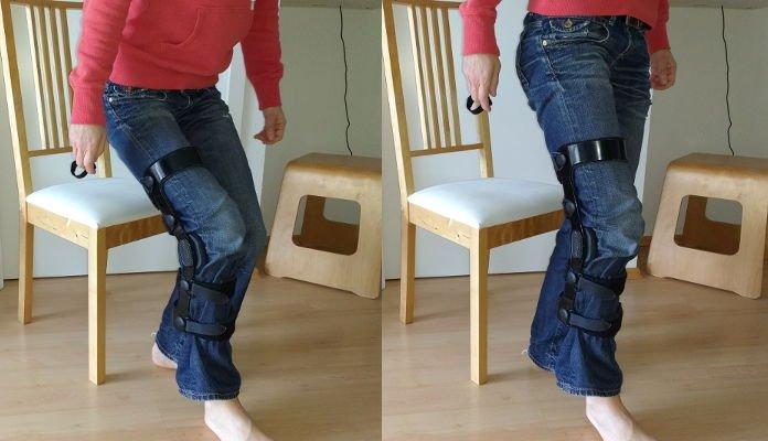 Alltag mit Krücken -Richtig Aufstehen vom Stuhl nach Knie-OP