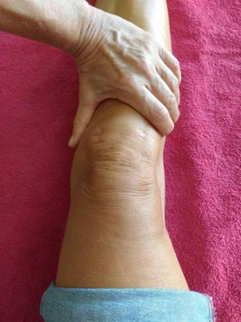 Bewegungsmuster Kniegelenk im Motorcortex