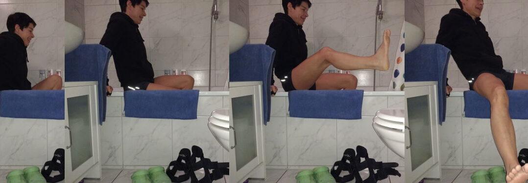 Duschen nach Arthroskopie im Knie - Teil 2