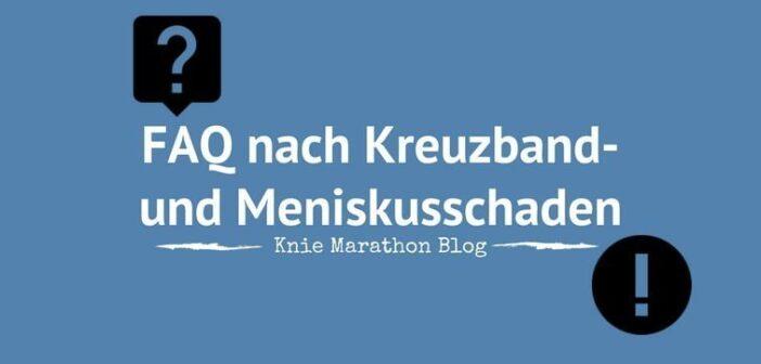 FAQ Kniegelenk