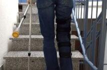 Treppensteigen nach Knie-OP
