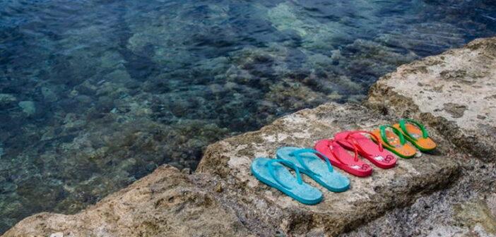 Flip Flops - Falsche Schuhe verursachen Knieschmerzen